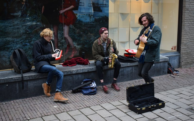 hallo arnhem straatmuzikanten