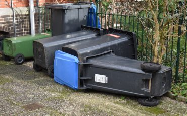 hallo arnhem storm omgevallen vuilnisbakken