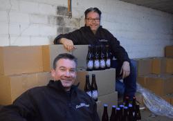 wim en koen brouwerij het roze varken MOUT bierfestival