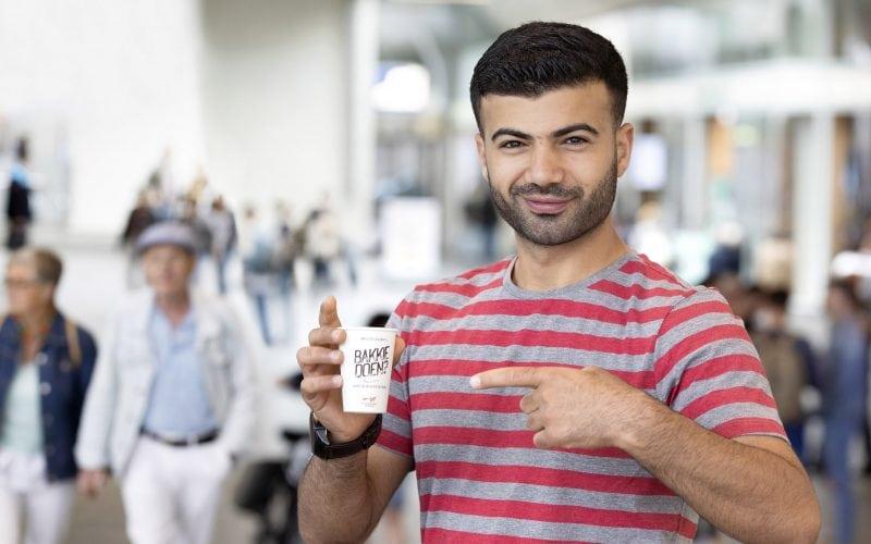 Vluchtelingenwerk Nederland bakkie doen Ahmad