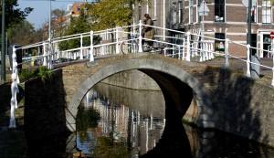 Delfts bruggetje fiets