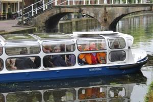 Rondvaartboot Delft