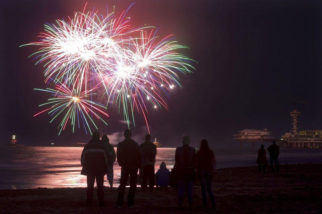 Foto ANP vuurwerkfestival Scheveningen