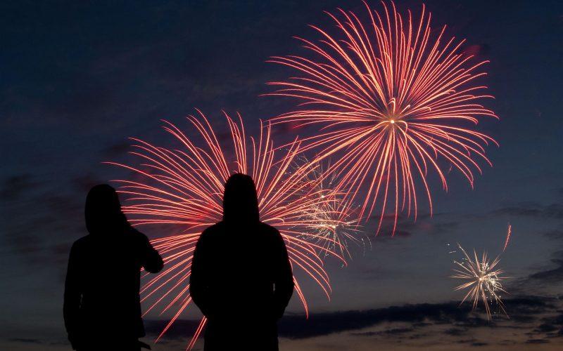Vuurwerkshow Scheveningen. Foto ANP