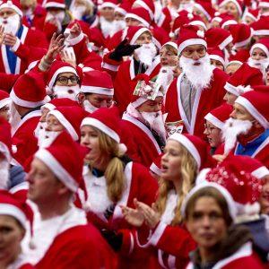 Santa Run. Foto ANP