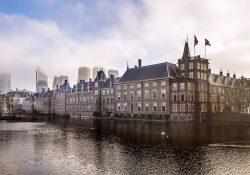 Hofvijver, Binnenhof Den Haag. Foto ANP