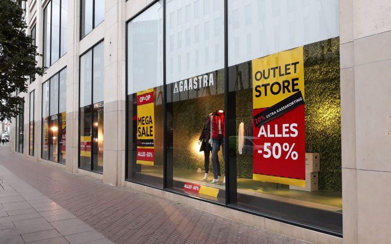 Outletstore McGregor en Gaastra Den Haag