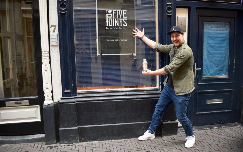 The Five Points, Michael Ziengs. Foto Joyce Hoogland
