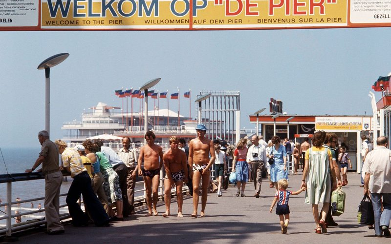 Scheveningse Pier 1977. Foto ANP