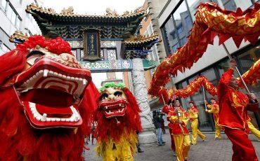 Chinees nieuwjaar Den Haag. Foto ANP