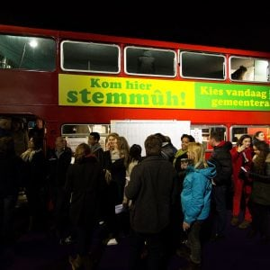 Gemeenteraadsverkiezing Den Haag 2014. Foto ANP