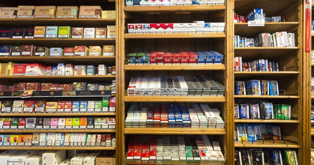 Pakjes sigaretten ter illustratie. Foto ANP