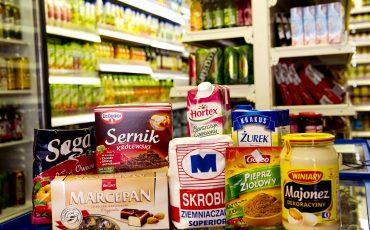 Poolse supermarkt. Foto ANP