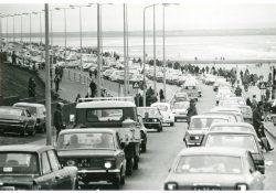 Auto's op Scheveningen. Foto Ter Illustratie ANP