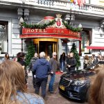 Filmopname All You Need Is Love, Hajo Bruins. Hotel Des Indes Den Haag