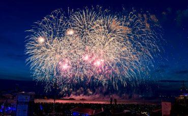 Internationaal Vuurwerkfestival Scheveningen. foto Richard Mulder