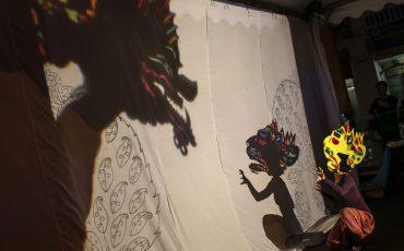 Wayang poppenspel. Foto ANP