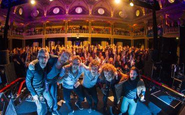 Haagse band Di-rect in het Kurhaus. Foto ANP
