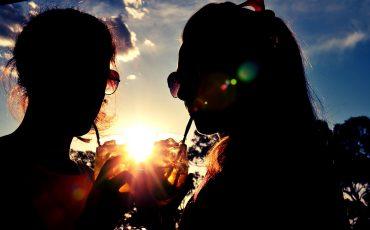 Zon-drinken-zonnestraal-nazomer