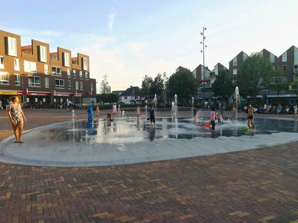 Marktplein Ede fontein