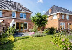 Groene tuin Bernard Roerinkstraat