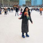 Charmain schaatsen