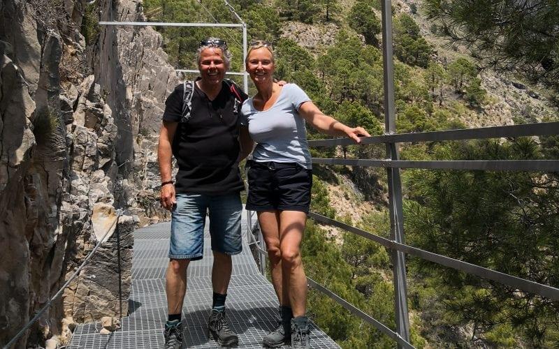 Esther en Theo Andalusië Villa Deseada