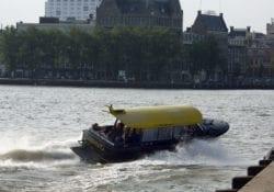 Per boot naar Rotterdam Gouda
