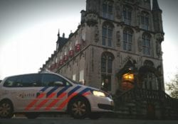 politie in Gouda
