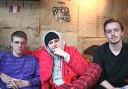 Maxim, Abel en Thomas