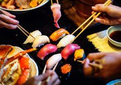 Sushi Gouda eten