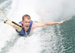 waterskiën in het groenhovenbad