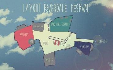 plattegrond Riverdale festival Gouda