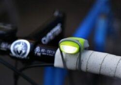 knipperende fietslampjes