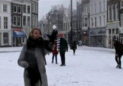 sneeuw gouda