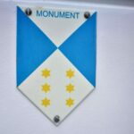 blauw-wit monumenten bordje