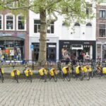 gele fietstassen gouda