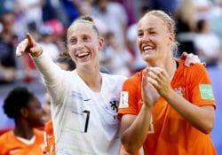 vrouwen voetbal Nederlandselftal