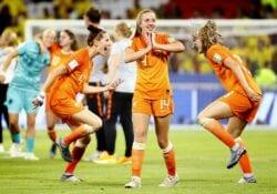 voetbalvrouwen nederland