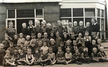oude klassenfoto's gouda