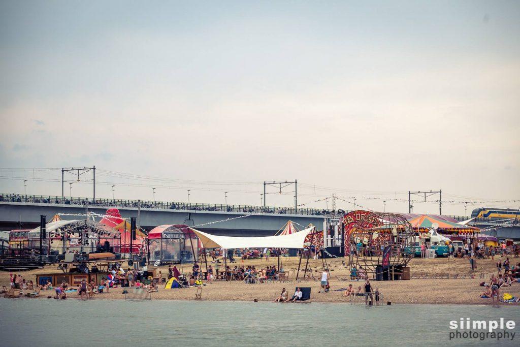 Nijmeegse festival 2017, op 't eiland