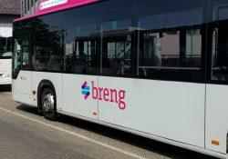Breng buschauffeurs staken