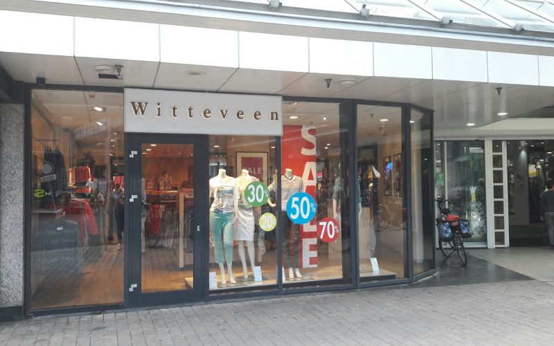 Witteveen Mode Jassen : Witteveen mode in de emmapassage is failliet en nu