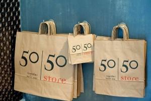 50/50 store Utrecht