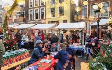 Netherlands, Utrecht, Mariaplaats, Kerstmarkt