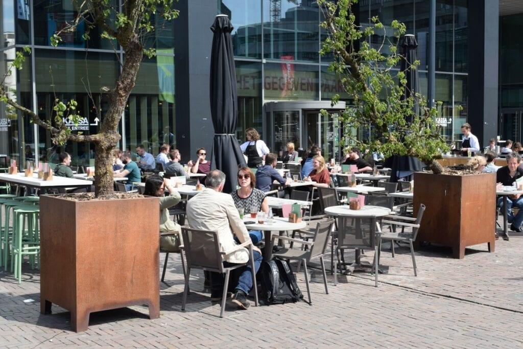 terras aan het water Utrecht