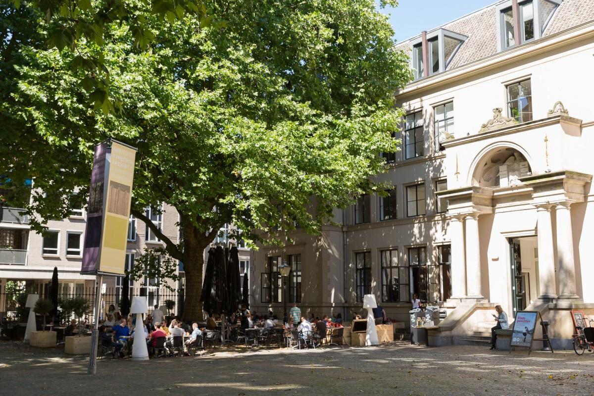 De Rechtbank Utrecht terrassen