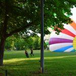 Luchtballonnen exercitieveld woerden