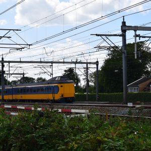 Trein spoor station Woerden