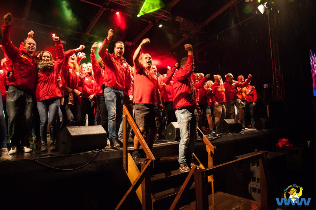 Vakantieweek familieavond Woerden vrijwilligers rode leger
